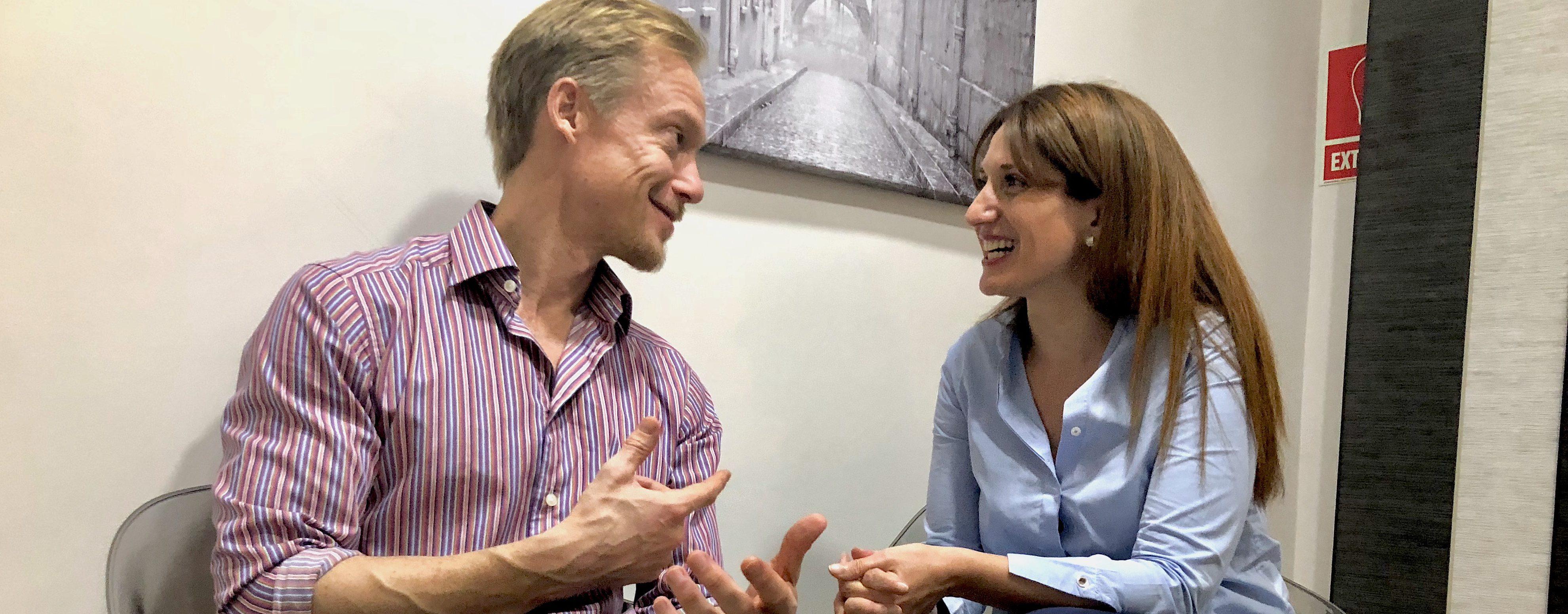 Diálogo entre una Directora Clínica y uno de Desarrollo y su ansiedad